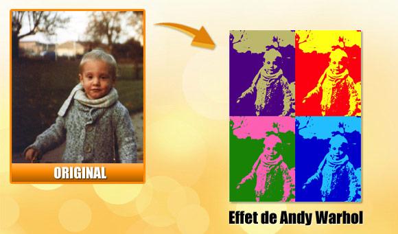 Faire un effet 39 pop art 39 comme andy warhol en ligne for Effet miroir photofiltre