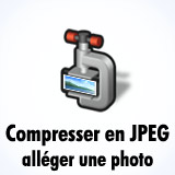Compresser photos en JPEG