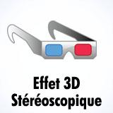 Effet 3D Stéréoscopique