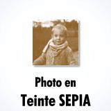 Effet Photo Sépia